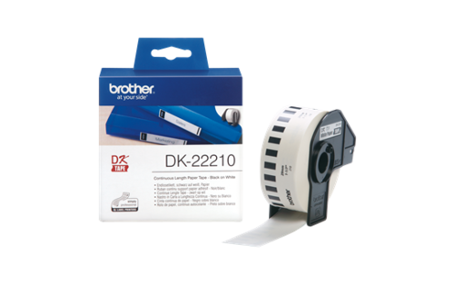 Etiquetas Brother Label Roll 29mm x 30,48